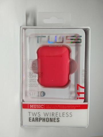Fone de ouvido Sem Fio Vermelho Bluetooth - Foto 6