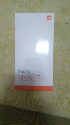 Redmi Note 7 Preto 128 Gb (Lacrado, 03 meses de garantia