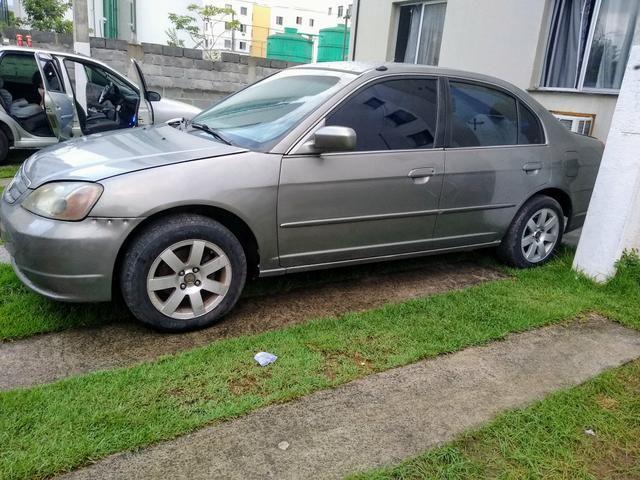 Honda Civic LX 1.7 Aut 2001 $7,000,00 (Vendo ou Troco )