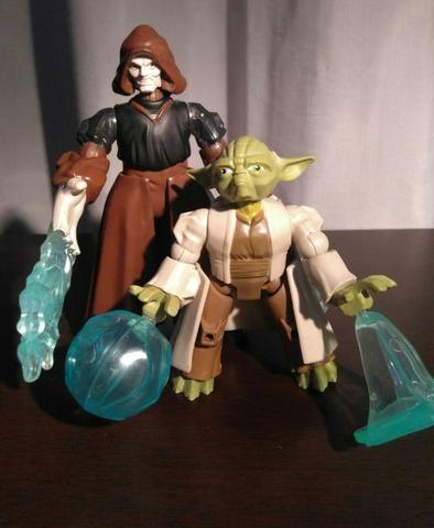 Mestre Yoda x Imperador Palpatine - Star Wars - Foto 3