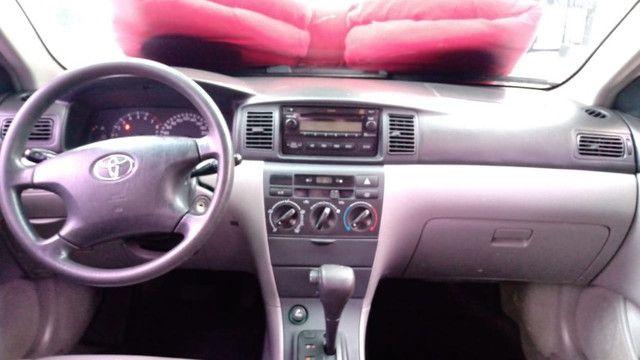 Corolla XEI 1.8 Completíssimo 2006 (S/ Entrada R$: 899,90) Financie Fácil - Foto 13