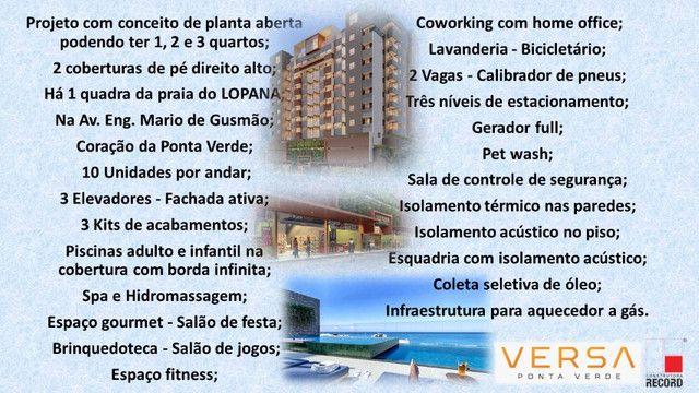 Lançamento do Versa na Ponta Verde, Apto 3 quartos - Foto 10