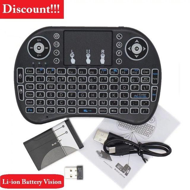 Mini teclado wi-fi para tv box,smartv,. - Foto 5