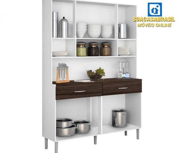 Armário de Cozinha 8 portas( NOVO NA CAIXA) - Foto 2