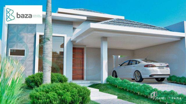 Casa com 3 dormitórios à venda, 148 m² por R$ 759.000,00 - Residencial Aquarela Das Artes  - Foto 2