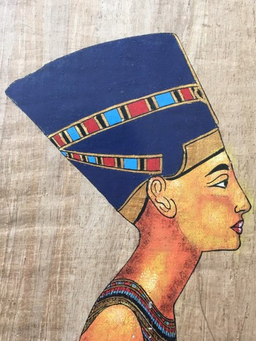 Pintura sobre papiro egípcio genuíno  - Foto 2