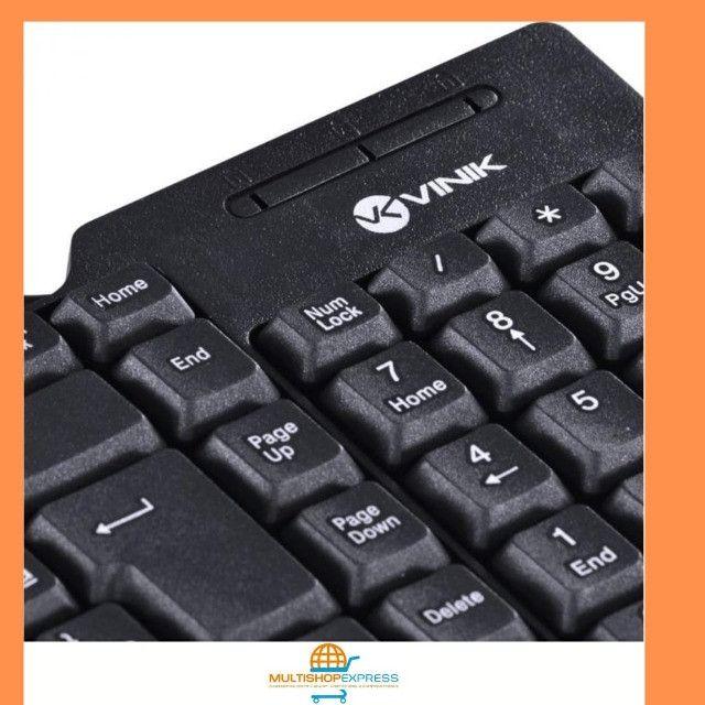 Teclado Compacto USB Dynamic Vinik ABNT2 - Foto 3