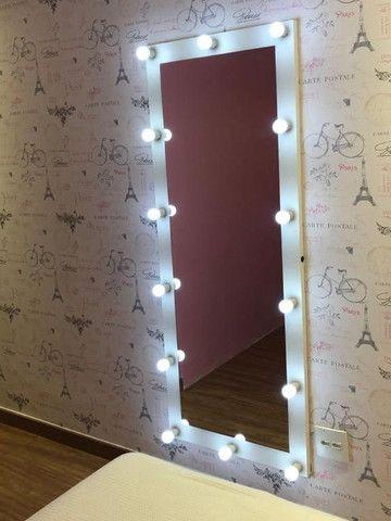 Espelho Camarim Corpo Todo Casa Salão de Beleza - Foto 3