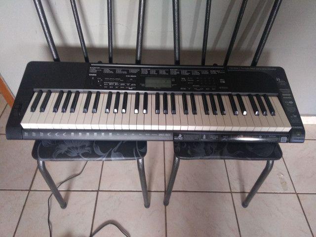 Vendo teclado CTK-3500 novíssimo