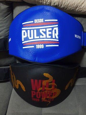 Cinturão Pulser Muaythai kickboxing boxe