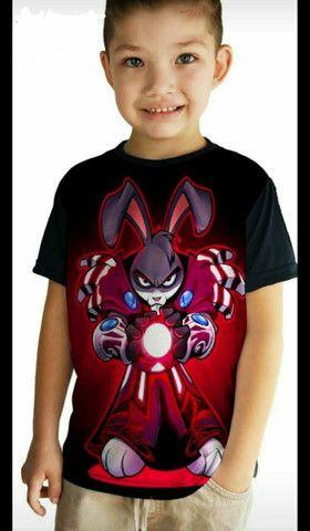 Camisas infantis - Foto 4
