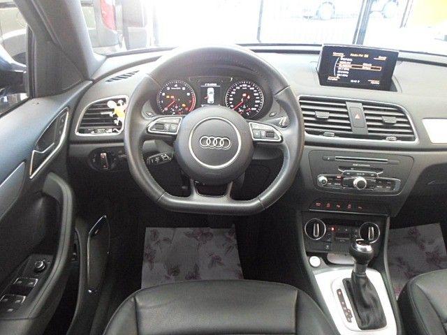 Audi - Q3 Black Edition 1.4 TFSI 2018 Flex c/ Teto Solar  - Foto 8