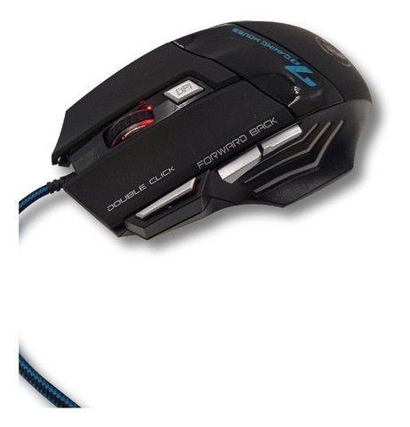 Mouse GamerX7 7Botões LED rgb 3600dpi - Foto 4