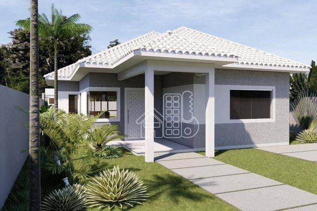 Casa com 3 dormitórios à venda, 100 m² por R$ 495.000,00 - Jardim Atlântico Leste (Itaipua - Foto 9