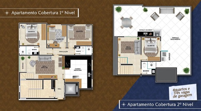Apartamento à venda com 3 dormitórios em Caiçara, Belo horizonte cod:5885 - Foto 6