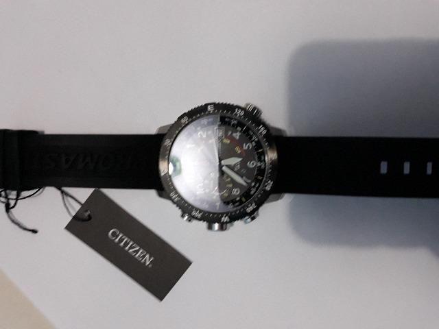 Relógio Citizen Promaster Altichron eco drive
