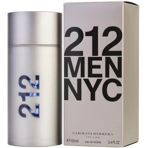 745fa8a461 Perfume 212 Men NYC Carolina Herrera Eau de Toilette Masculino 100ml ...
