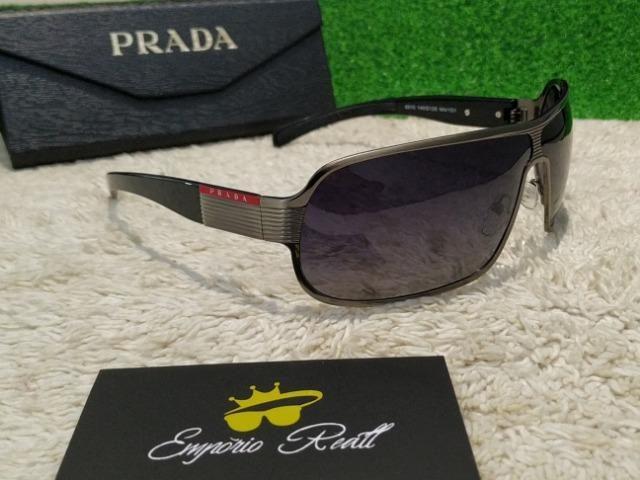 3b281f4ac Óculos de sol Prada masculino preto - Bijouterias, relógios e ...