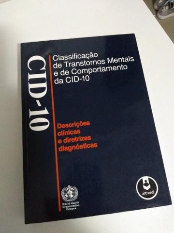 Cid-10 Classificação de Transtornos Mentais e de Comportamento da Cid-10