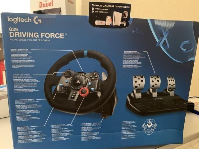 Volante Logitech G29 Driving Force PS3 PS4 PC   Lacrado