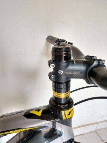 Quadro MTB First + cockpit de carbono - Foto 4