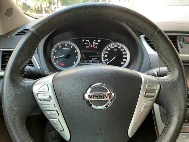 Nissan Sentra SL 2014 Placa A com Teto Solar - Foto 2
