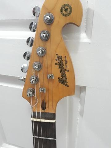 Vendo Guitarra Memphis By Tagima e Caixa de Som Loud Vox - Foto 5