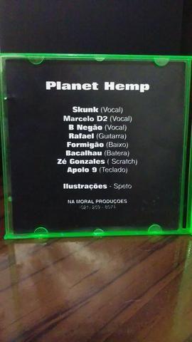 Cd Planet Hemp para Colecionadores - Foto 5