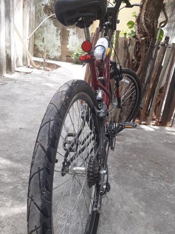 Bike Cairu Jump aro 26 personalizada 21M - Foto 5