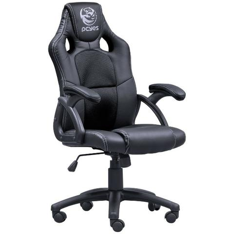 Cadeira Gamer Pcyes Mad Racer V6 Pt Preta 100% Nacional Produto Novo na Caixa