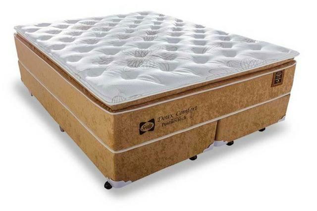 Cama box 158x198 queen size duox confort super confortavel 1999 a vista