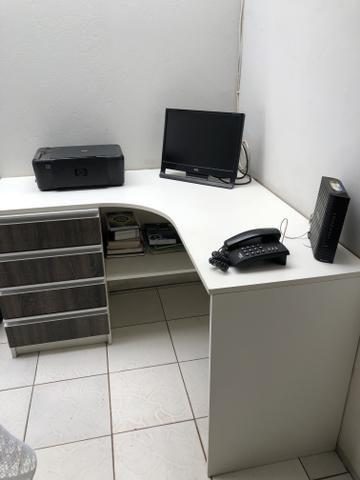 Mesa escritório MDF - Foto 2