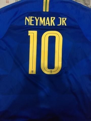 Camisa Seleção Brasileira Oficial Tam G - Foto 6