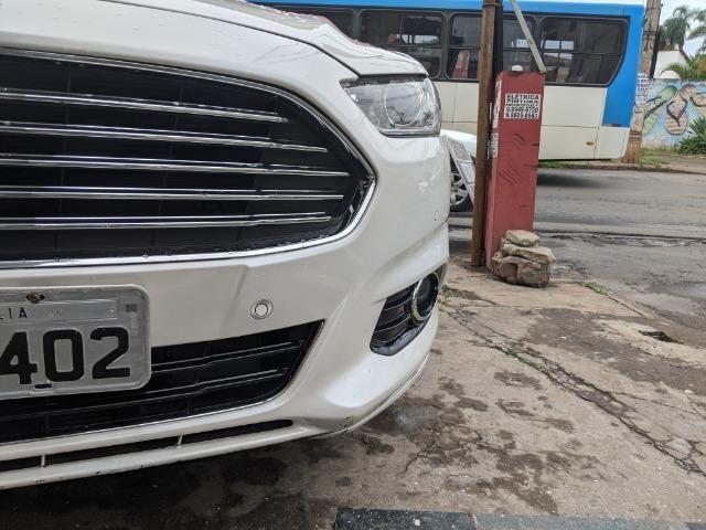 Vendo Ford Fusion Titanium AWD 2014 Automatico Teto Solar - Foto 7