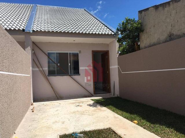 Casa com 2 dormitórios à venda, 58 m² por r$ 199.000 - sítio cercado - curitiba/pr