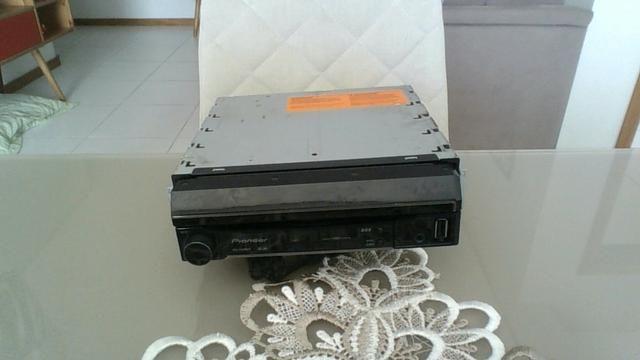 Vendo dvd automotivo retratil pioneer - Foto 2