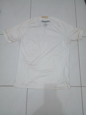 Camisa Santos branca Umbro 2018 - Foto 6