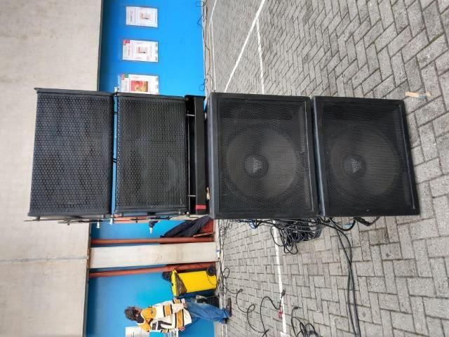 Gabinete Line Array Vazio Profissional S12 2x12 - Foto 3