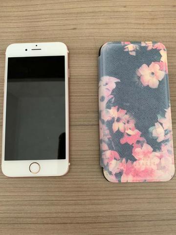 Iphone 6s 128Gb Rose Gold em Perfeito Estado Único Dono - Foto 3