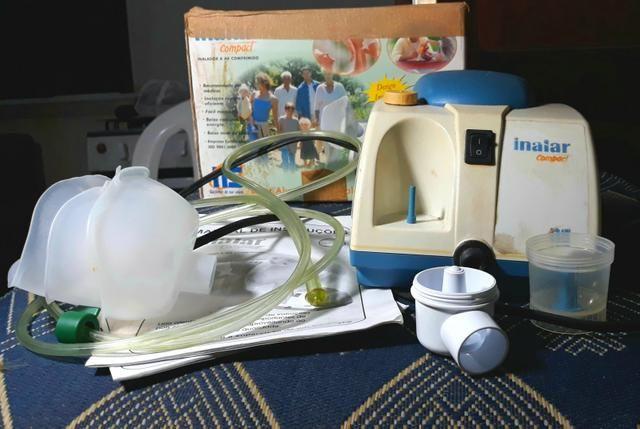 Inalador/ Nebulizador a AR COMPRIMIDO Completo