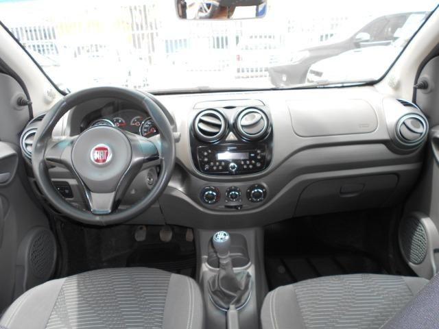 Fiat palio attractive 1.0 flex 2014/2015 completo unico dono revisado lacrado - Foto 7