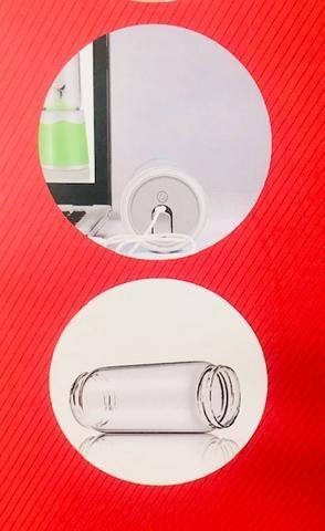 Mini Liquidificador Portátil 60w Usb 380ml Maz-004 - Foto 5