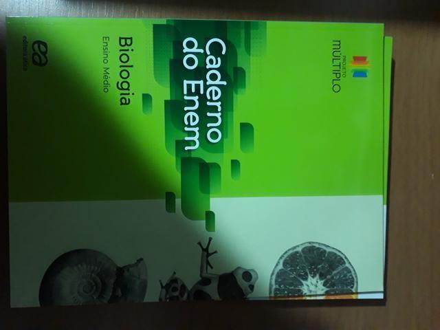 Box livro de biologia