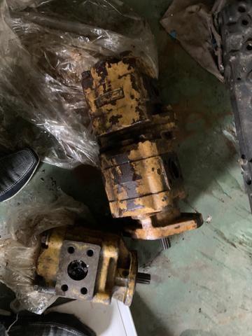 Bomba hidráulica carregadeira