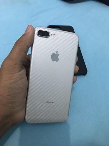 Vendo ou troco iphone 7 plus 256gb