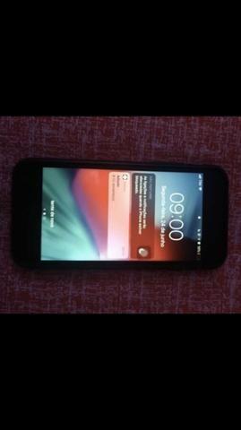 Iphone 7 preto de 32gb