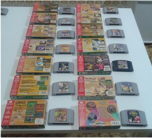Fitas originais para Nintendo 64 (preço variado) - Foto 2