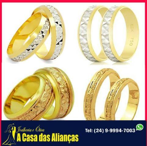 Bodas de Prata e de Ouro - Alianças em Promoção - Foto 2