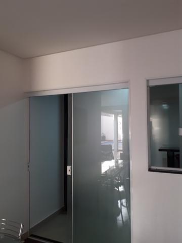Casa moderna Vicente Pires platibanda lazer completo armários pé direito duplo IPTU - Foto 12