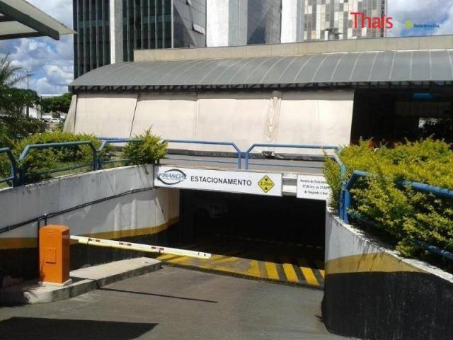 Sbs quadra 01, vaga de garagem no edifício financial center parking à venda, asa sul